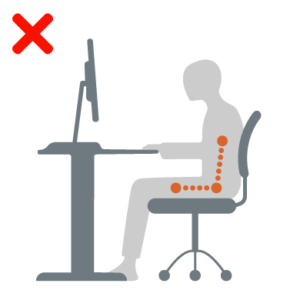 seating position office chair